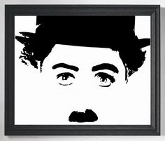Charlie Chaplin Print, https://www.etsy.com/listing/460504432/charlie-chaplin-print-charlie-chaplin?ref=shop_home_active_24 Charlie Chaplin Poster, Media Room Decor, Home Theater Decor, Movie Poster, Movie Art, Theater Gifts, Wall Art