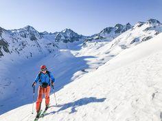 Préparer un voyage en ski de randonnée dans le Tyrol autrichien — On n'est pas que des collants Le Cap, Mount Everest, Skiing, Trail, Sports, Travel Workout, Snow Falls, Ski Touring, Public Transport