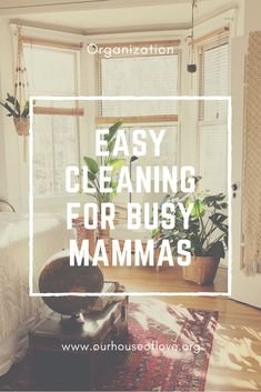 Moms are busy! Cleaning is not always on our priority list. Find out how you can have a clean house easily even for the most busy of mammas. Easy cleaning for busy mammas gives you the tools to have a clean house easily right NOW! Kids And Parenting, Parenting Hacks, Priorities List, Chore List, Laundry Hacks, Toy Organization, Best Blogs, Organizing Your Home, Home Hacks