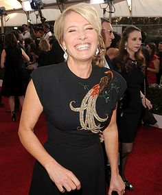 Emma Thompson SAG Awards Red Carpet