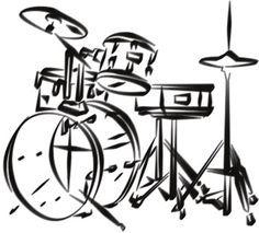 drum set drawing - Google Search