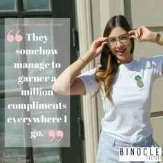 Kiki, fashion blogger, love the way she doesn't go unnoticed wearing the oversized London frames Fashion Bloggers, Compliments, Frames, London, Glasses, How To Wear, Women, Eyewear, Compliment Words