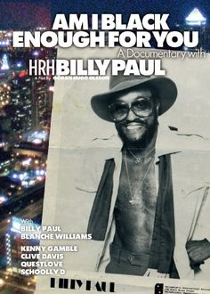 Billy Paul: Am I Black Enough For You [DVD]