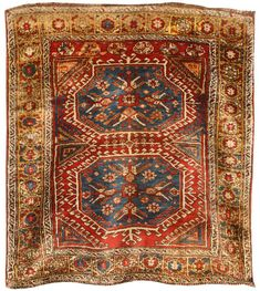 Antique Konya (Turkish) rug