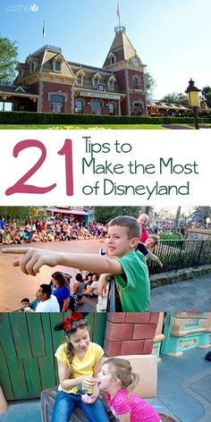 21 tips to make the most of disneyland ~ via howdoesshe | Disneyland Tips and Tricks | Disneyland Planning |