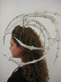 UGA- 3-D Design Class 2008 by Stephanie Voegele, via Flickr. I like the wire sculpture