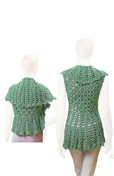 Picture of Uptown Downtown Shrug Pattern
