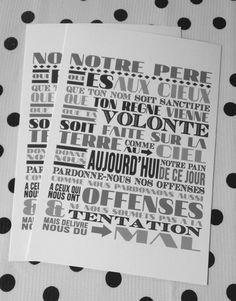 Free printable – Petites cartes «Je vous salue Marie»