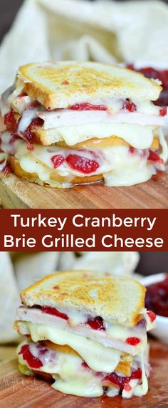 Brie Sandwich, Sandwich Wrap, Leftovers Recipes, Turkey Recipes, Dinner Recipes, Thanksgiving Leftovers, Thanksgiving Recipes, Turkey Leftovers, Brie Cheese Recipes