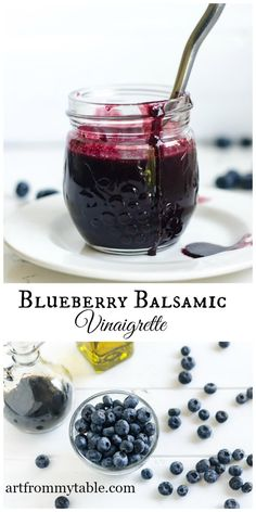 Ripe, plump, and sweet blueberries blended with just the right amount of extra virgin olive oil and balsamic vinegar to make a most delightful summer dressing. You'll want thisBlueberry Balsamic VinaigretteRecipe on every salad this summer! 0 from 0 votes Print Blueberry Balsamic Vinaigrette Perfect summer salad dressing! Homemade, no preservatives or sugar, just 3 …