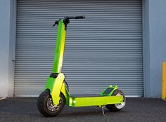 Rover Electric Scooter - Forget you ever laid eyes on a Segway and think about the practicality of an electric scooter. Zips through traffic. Easy to park. Better for the planet. More fun than the bus. Lots of reasons. The all-aluminum Rover is made in Oregon, USA. It's got a range of 36 miles and a top speed of 33MPH.