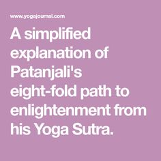 defining enlightment and the eight fold path The path to the end of suffering is the noble eightfold path anatma the buddhist doctrine of no soul or not self that means a permanent, unchanging, independent self does not exist, though people act as if it does.