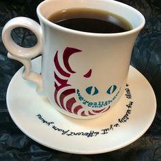 Alice mug, tea, cup, cheshire Tea Cup, Alice, Tableware, Teacup, Dinnerware, Dishes, Tea Cups, Cup Of Tea, Porcelain Ceramics