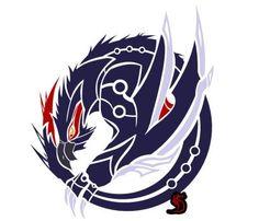 DeviantArt: More Collections Like White Fatalis Circular Emblem by Zanshinretsu
