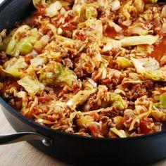 Stuffed Cabbage Saute