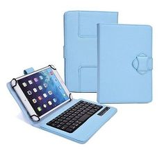 Tablet Bluetooth Keyboard Universal 8 In Wireless Leather Accessories Detachable