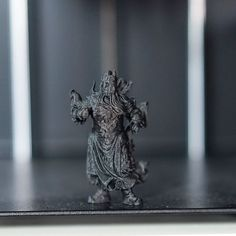 Printed with @proto_pasta carbon fiber material on #86duino_enjoy printer. File is of Asian god protector from evil. . 200 micron about 3hrs. . . File is on thingiverse #3dprinting #3dprinter  #3dprint #3dprinted #cokreeate #3dscan #3dscanner #artec #selfie #3dminime #minime #gift #awesome #3dscanned #zbrush #3dmodel #3d #3dmodels #LosAngeles #alhambra #la#guangong by cokreeate