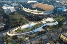 "L.A. mayor says city ""gaining a new jewel with the breathtaking Lucas Museum of Narrative Art"""