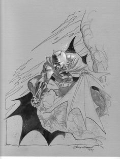 Andy Kubert Batman sketch