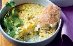 This American-style corn bake is delicious. Sweetcorn Bake, Baked Corn, Recipe Search, Vegetable Sides, Vegetarian Cooking, Baking Recipes, Delicious Desserts, Food Porn, Dinner