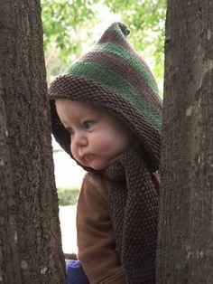 Harper's Hood Petite Purls  Baby, Toddler, Child sizes