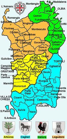 Divisione amministrativa del Gran Regno di Sardegna