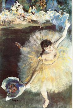 Edgar Degas End of an Arabesque painting for sale - Edgar Degas End of an Arabesque is handmade art reproduction; You can shop Edgar Degas End of an Arabesque painting on canvas or frame. Edgar Degas, Degas Ballerina, Pierre Auguste Renoir, Arabesque, Ballerine Degas, Art Ballet, Degas Dancers, Degas Paintings, Impressionist Art