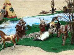 La Conquista Del Oeste (Diorama Madelman En Renedo).avi