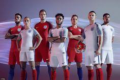 (From left to right) Josh Onomah, Toni Duggan, Harry Kane, Raheem Sterling, Steph Houghton...