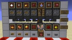 Redstone House: Automatic Potion Room Minecraft Project - Minecraft, Pubg, Lol and Minecraft Redstone Creations, Minecraft Shops, Minecraft Farm, Easy Minecraft Houses, Minecraft Plans, Minecraft Decorations, Minecraft Construction, Minecraft Survival, Minecraft Games