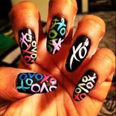 @Ashlee Outsen Black these nails are for you