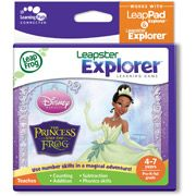 LeapFrog Explorer & LeapPad Learning Game: Disney The Princess and the Frog