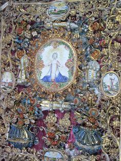 Momento Mori, Mary Magdalene, French Antiques, Quilling, Art Decor, Catholic, City Photo, Handmade Gifts, Artwork
