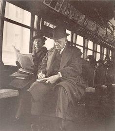 Chicago Streetcar, 1938, Chicago by Edmund Teske