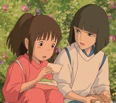 千と千尋の神隠し, Szen to Csihiro no kamikakusi, Chihiro szellemországban, Hayao Miyazaki, Ghibli ^. Art Studio Ghibli, Studio Ghibli Films, Totoro, Chihiro Y Haku, Girls Anime, Spirited Away, Animation, Anime Scenery, Hayao Miyazaki