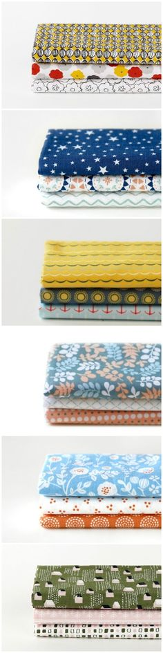 Encuentra la tela de tus sueños entre esta selección de telas estampadas #DIY #Telas #Fabric #DaWanda #Handmade #costura