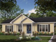Bonneville Homes - Pre-engineered home Multi Family Homes, Home And Family, Bungalow, Cute House, Construction, Modular Homes, Small House Plans, Design Process, Custom Homes