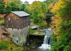One of Mahoning County's most historic landmarks, Lanterman's Mill was built in 1845-46 by German Lanterman and Samuel Kimberly. Restored in 1982-85 through a gift from the Ward and Florence Beecher Foundations, this community treasure represents one of the many pioneer industries developed along Mill Creek and operates today as it did in the 1800s, grinding corn, wheat, and buckwheat.Call 330-740-7107 for information regarding our stone-ground flours and meal.