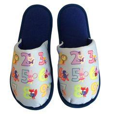 Pantufa Infantil Numerais Animados Royal > Conforto Store