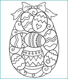 10 Redwork Designs 2 Sizes: and Hoop Fun for Easter! Easter Coloring Pictures, Easter Egg Coloring Pages, Colouring Pages, Adult Coloring Pages, Coloring Books, Easter Art, Easter Crafts, Easter Story, Easter Projects
