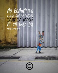 NO RENUNCIES a algo que no puedes dejar de pensar ni un solo día.  与えていません  Aquí hacemos gráficas tus ideas  DG CARLOS LEON  . Agencia Online de Diseño & Publicidad  2016  #anaco #dgcarlosleon #anzoategui #lecherias #publicidad #marketing #photooftheday #me #instamood #batman #cars #girl #ptolacruz #fashion #caracas #follow #smile #pretty #follome #friends #life #live #civilwars #stopwars #makeday #sign #love #diarioideal #design #amor Recomiendo: @gabrieldejesusf @oasisdistribuidora…