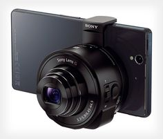 WHOA - Sonys Lens Cameras via petapixel: Smartphone-attachable lenses — complete with built-in sensor and processor