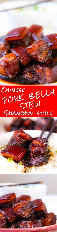 CHINESE PORK BELLY STEW Shanghai stile