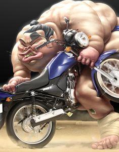 THE BEAST- Honda by Oscar Ramos, via Behance
