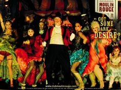 I think that the party scene should have that moulin rouge feel to it. A dirty secret where you come to indulge yourself