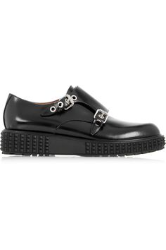 VALENTINO MONK-STRAP LEATHER BROGUES £297.50 http://www.theoutnet.com/product/587274