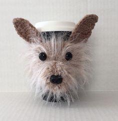 Cairn Terrier Mug Cozy/Dog Mug Cozy/Dog Cup/Dog Coffee Sleeve/Custom Dog Mug