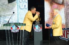 Andre Reed and Marv Levy