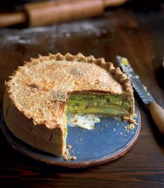 Try a vegetarian pie recipe with a difference; creamy leek, potato and Gruyère encased in crisp pastry.   (For 10)