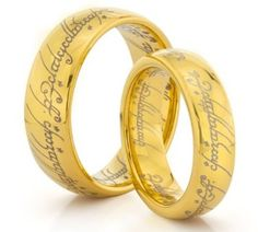 if my husband and i dont get the one ring wedding bands when we get married ill be more than just a little upset - The One Ring Wedding Band